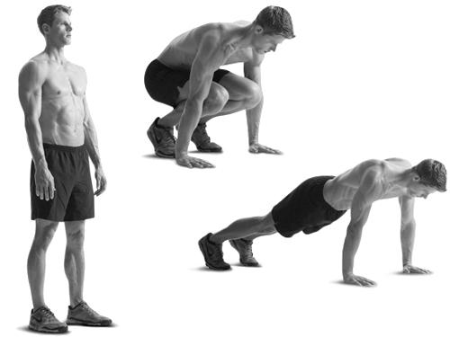 упражнение бурпи
