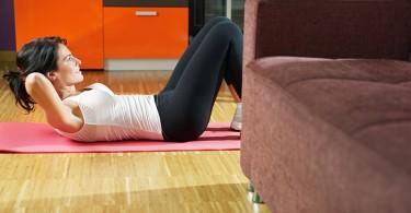 Как набрать хорошую физическую форму дома?