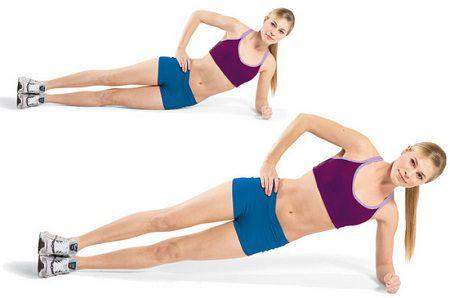 Упражнение Боковая планка