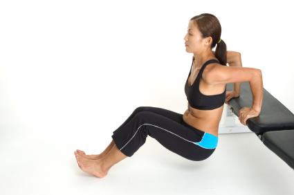 Дополнительный вес на ноги
