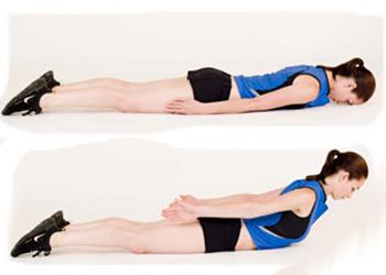 Как накачать мышцы спины в 8