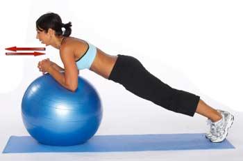 фитнес сжигания жира на животе