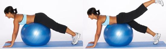 Для фитнес похудения на фитболе