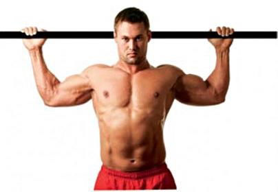 как накачать грудные мышцы на турнике