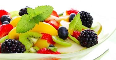 Фрукты и спортивное питание