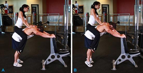Упражнения для накачки мышц в домашних условиях