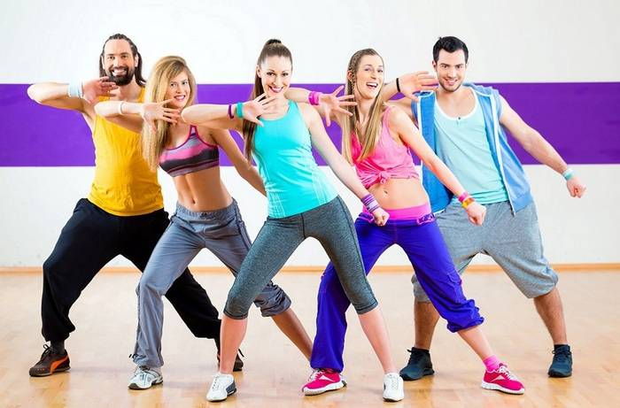 зумба танец