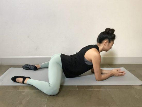 упражнение лягушка