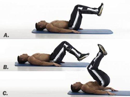 упражнения для набора массы с собственным весом